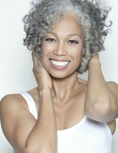 Short grey curls - Haircut for Women Over age 50