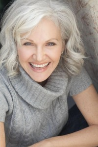 Wispy silver locks - Hairstyles for Women Over age 50