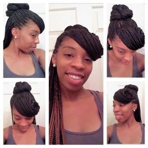 box-braid-hairstyle-for-women-double-braided-bun
