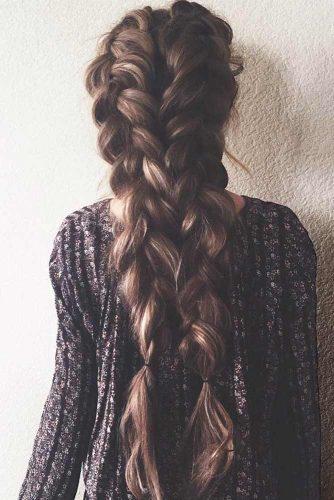 braid-long-messy-brown-double-braids