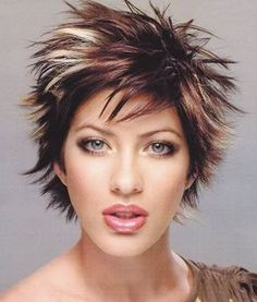 hairstyles-for-girls-with-short-hair-Spicy pixie