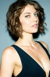 wedding-hairstyles-for-curly-hair-Edgy and Curly Chin-Length Wedding Bob