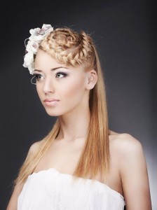 braided-hairstyles-crown-braided-with-straight-opening