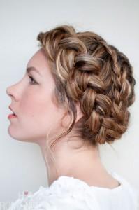 braided-wedding-hairstyle-complete-braided-bun