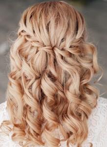 braided-wedding-hairstyle-waterfall-braid