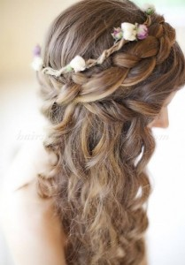 braided-wedding-hairstyles-back-braids-with-curls