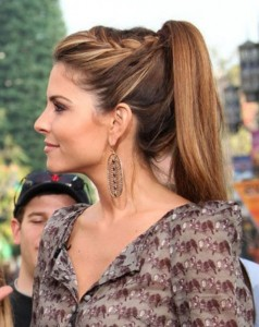hairstyle-for-thin-hair-high-knot-pony-tail