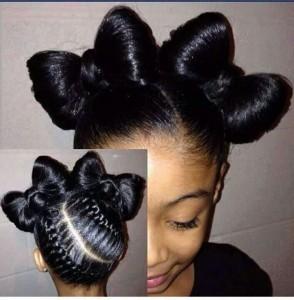 hairstyles-for-black-little-girls-Butterfly bun