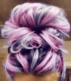 hairstyles-for-black-little-girls-Candy color bun