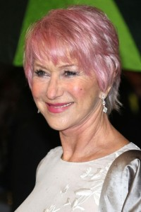 helen-mirrer-short-pink-hair-for-women-over-50