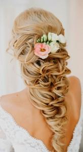 inter-locked-messy-braid-pony-tail-braided-wedding-hairstyle