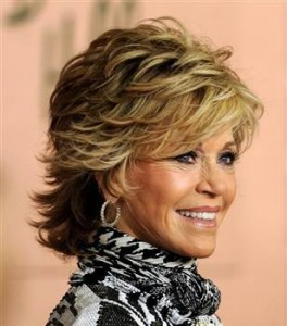jane-fonda-short-hairstyle-for-women-over-50