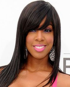 long-hairstyles-for-black-women-Flamingo highlights