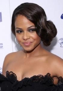 long-hairstyles-for-black-women-Side bun