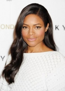 long-hairstyles-for-black-women-Side swept cascade of waves
