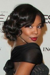 short-hairstyle-for-black-women-Vintage curls