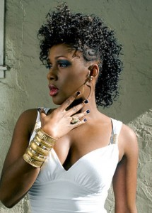 short-hairstyles-for-black-women-Mohawk style