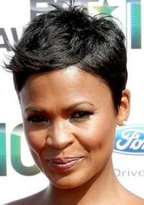 short-hairstyles-for-black-women-Serene Pixie