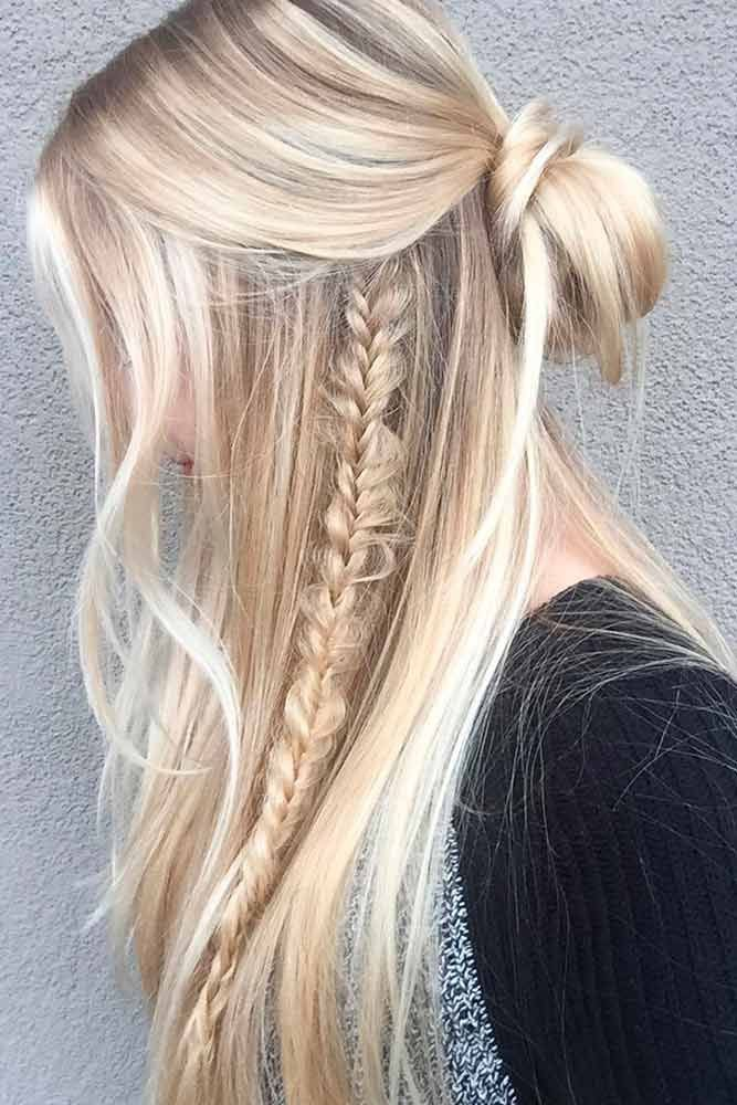 messy college girl hairstyle straight hairstyle