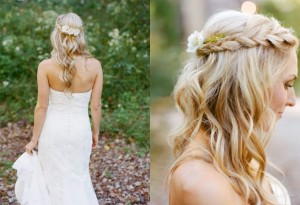 half-up-braided-flower-bridal-hairstyle