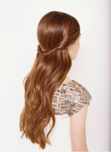rolled-up-half-up-and-down-bridal-hairstyles