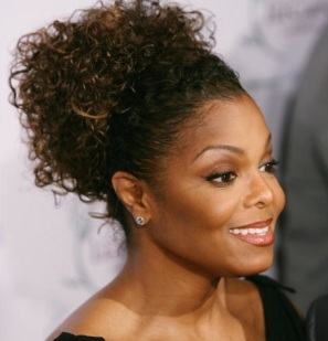 African American up-do hairstyles Simple up-do