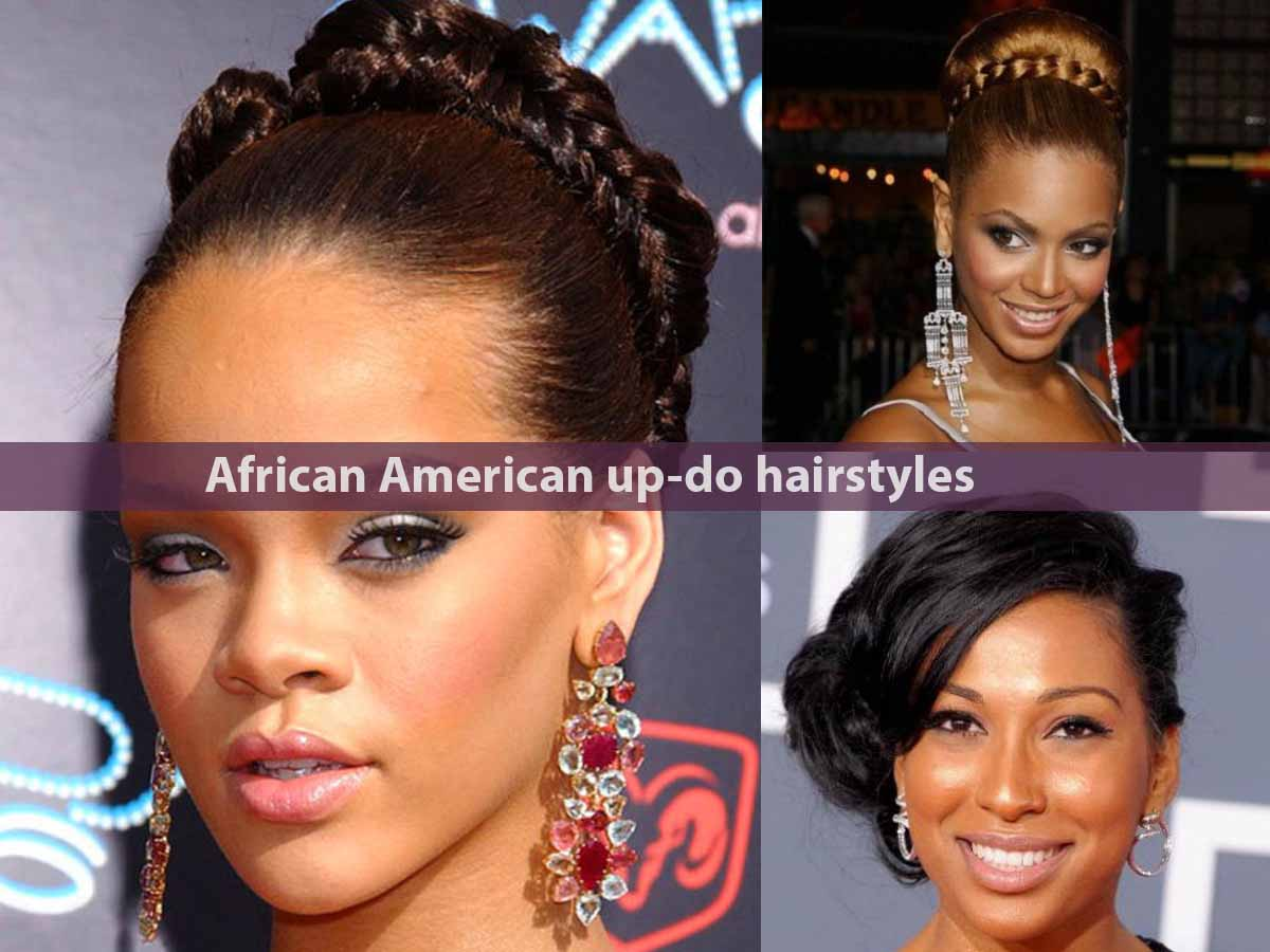African American up-do hairstyles