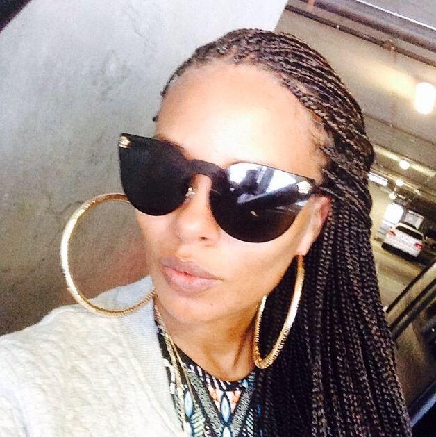 Black braided hairstyles Black top braids