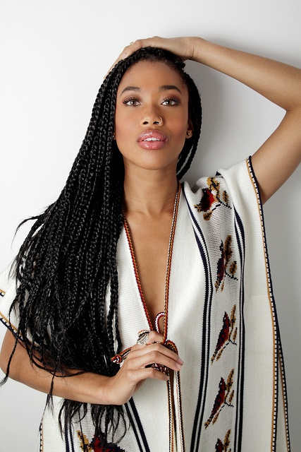 Black braided hairstyles Braided hairstyle on twisted ropes