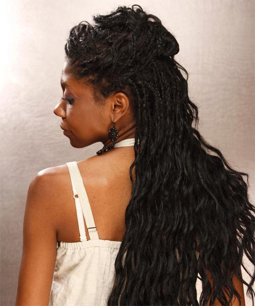 Black braided hairstyles Justice braids