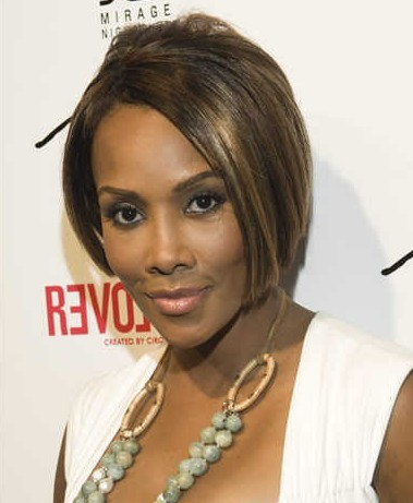 Bob Hairstyles for Black Women Enhanced bob cut