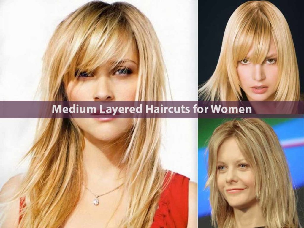 Medium Layered Haircuts for Women