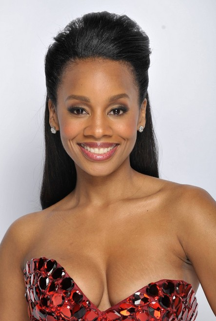 Natural Hairstyles for African, American Women Back swept hair