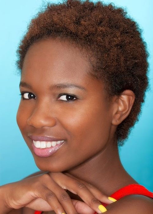 Natural Hairstyles for African, American Women Black short cut