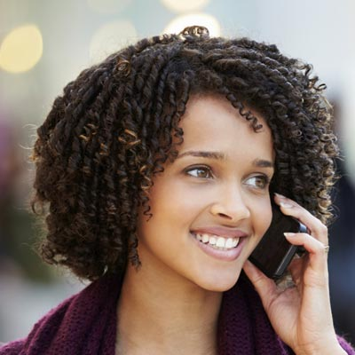 Natural Hairstyles for African, American Women Crazy kinks