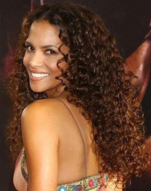 Natural Hairstyles for African, American Women Long natural curly hair
