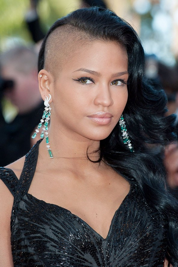 Natural Hairstyles for African, American Women Natural hair half shaved