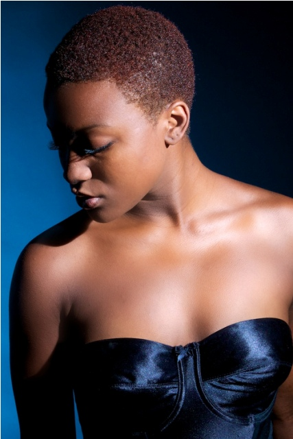 Natural Hairstyles for African, American Women Ultra short natural hair