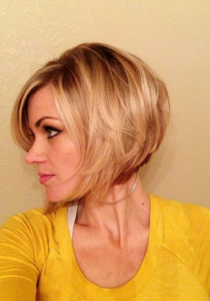 Short Hairstyles for Thick Hair Sassy bob cut