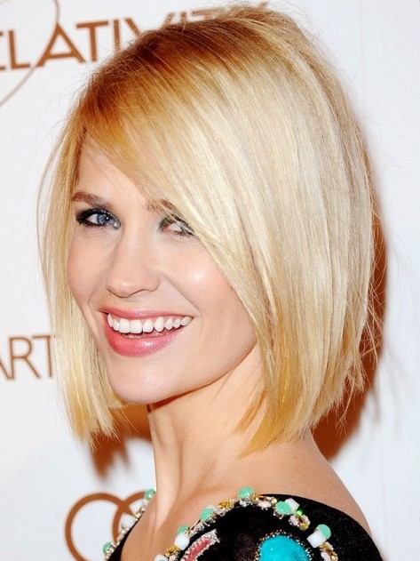 Short Hairstyles for women Chic asymmetrical cut
