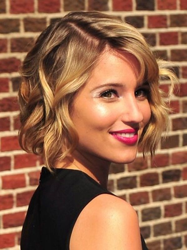 Short Hairstyles for women Cute shaped crop