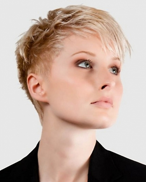 Short Hairstyles for women Edgy pixie
