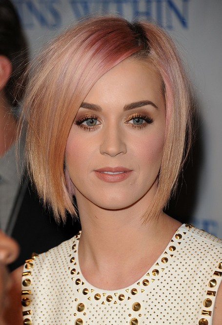 Short Hairstyles for women Highlighted bob cut