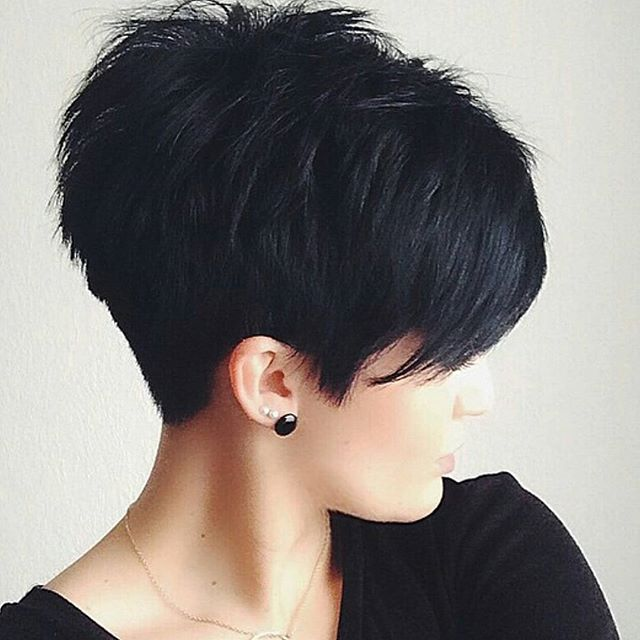 Short Hairstyles for women Pixie cut