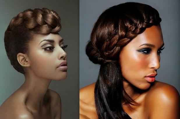 black braided hairstyle revamped braid