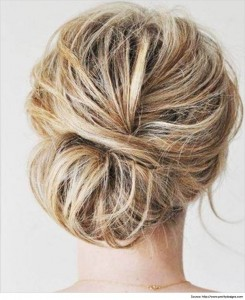 crimped-messy-bun