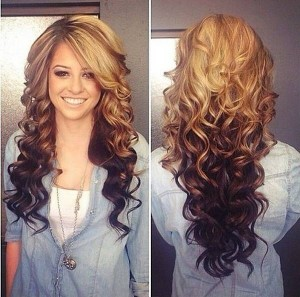 curly-ombre-cut-hairstyle-for-spring-season