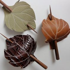 leather-barret-hairclips-accessiories-for-hair